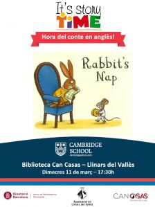 "STORY TIME ""Rabbit's nap"""